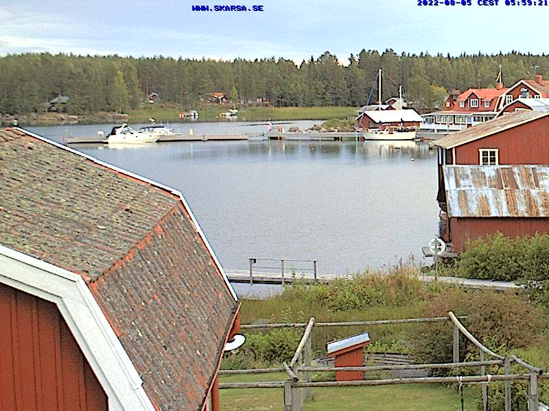 View from Skärså Samlingslokal