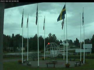 Arctic Circle from the Polcirkelhuset on Stora Vägen