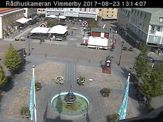 Vimmerby Rådhus & Turistbyrå on Stora Torget