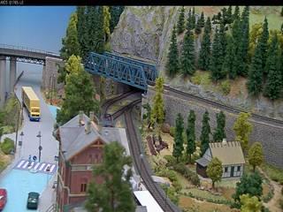Model Train & Village