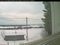View of Oviksfjällen, Rödön, Frösö Airport