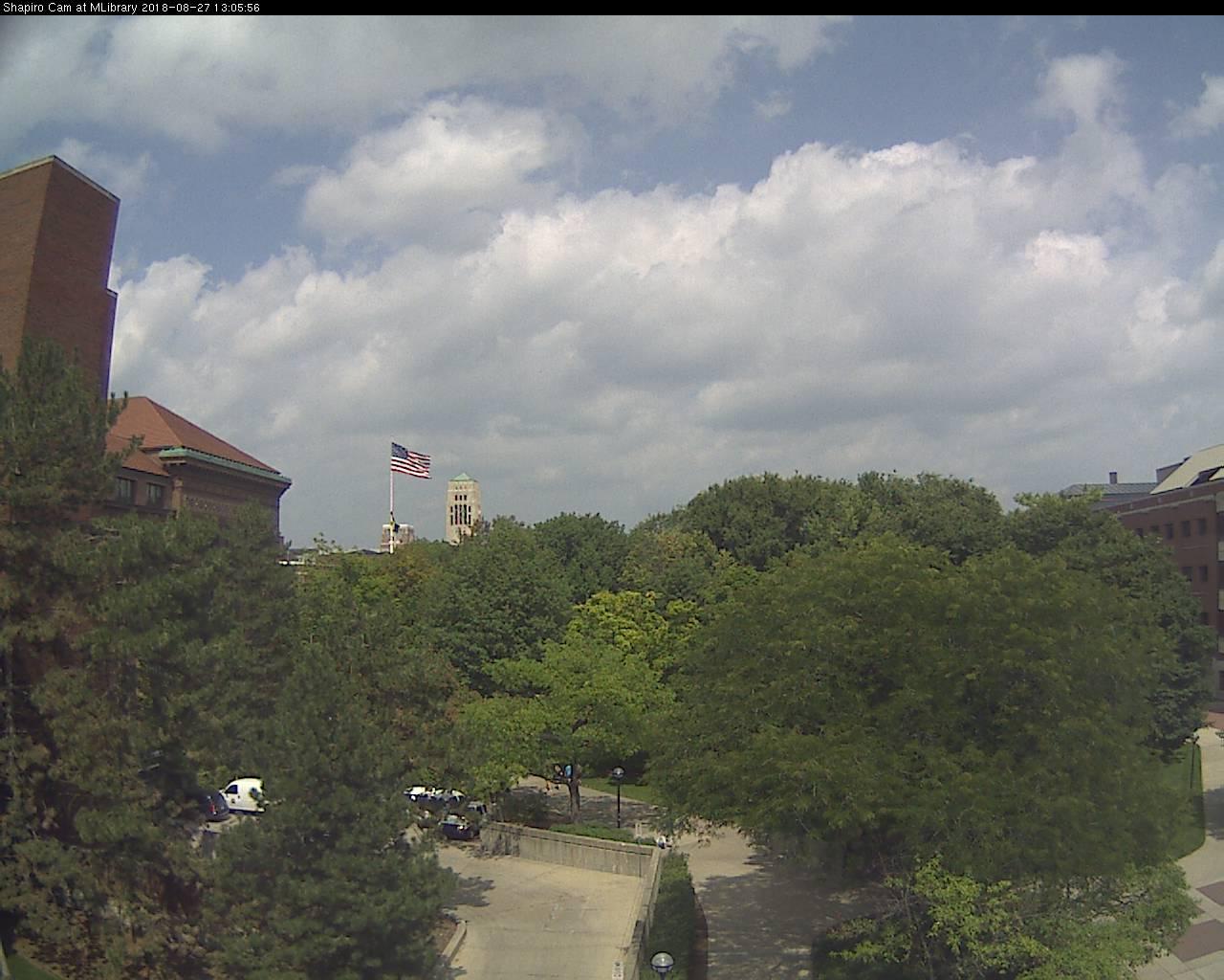 University of Michigan - Shapiro Library Cam