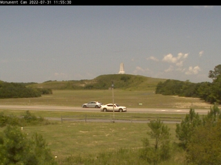 Wright Brothers National Memorial - Monument Cam