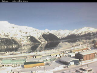 Overlooking Whittier and Passage Canal  (Webcam Offline)