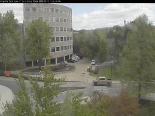 Virginia Tech - Library Plaza