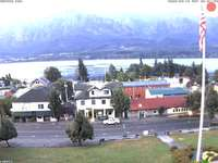 Downtown Stevenson and Columbia River