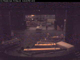 Colorado University - Theatre Cam