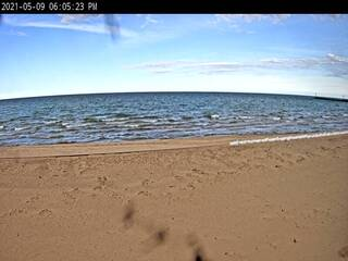 Au Sable Beach on Lake Huron