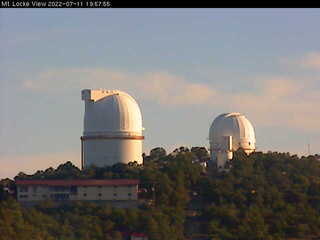 McDonald Observatory - Mt Locke View