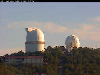 McDonald Observatory - Mt. Locke View