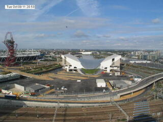 Aquatic Centre at Olympic Park  (Webcam Offline)