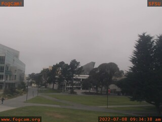 San Francisco State University - the oldest operating webcam