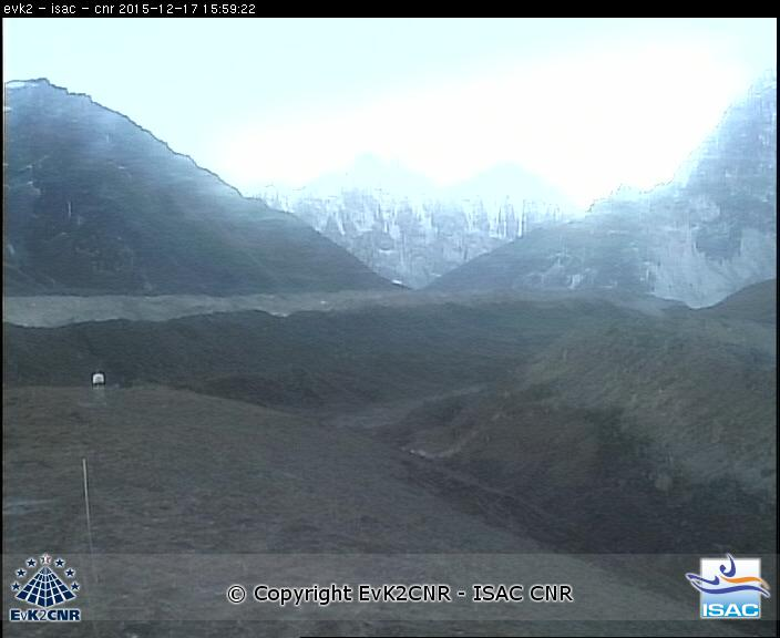 Khumbu Glacier Live Web Cam from NCO-P Station