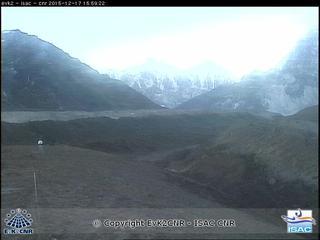 Khumbu Glacier Live Web Cam from NCO-P Station