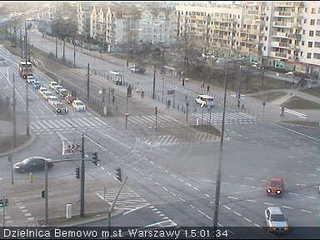 Bemowo District Office on Powstańców Śląskich