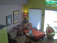 Living Room .... and yes ... she knows she's being watched.