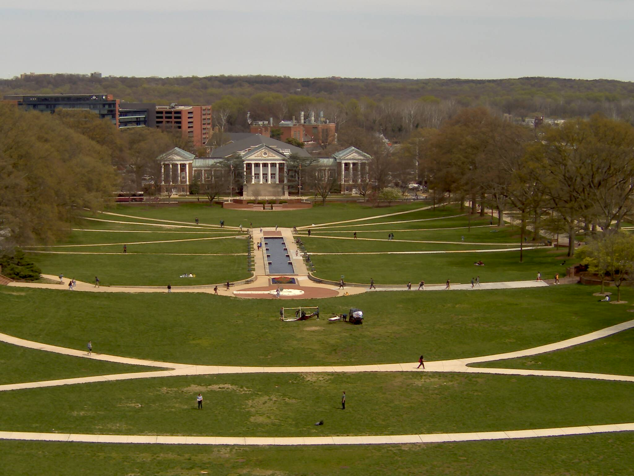 University of Maryland - McKeldin Mall