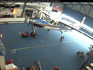 National Paracentrum Teuge - Hangar Cam