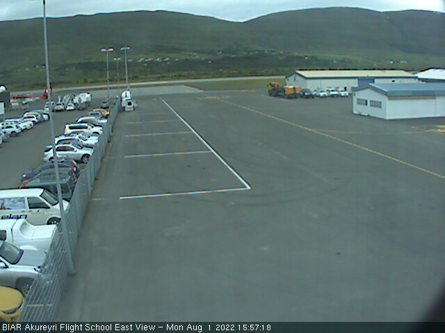 BIAR Akureyri Flight School - East View