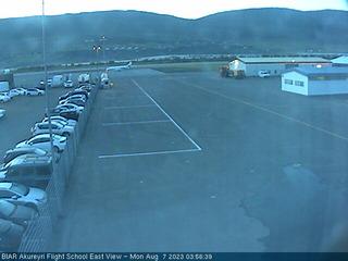 BIAR Akureyri Flight School - East View