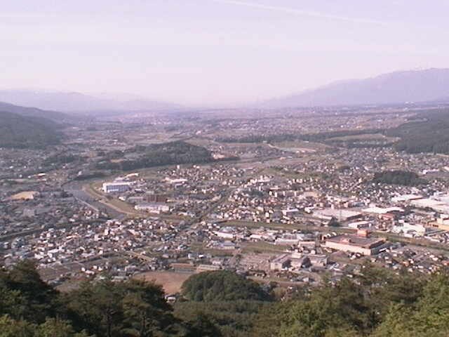 Overlooking Tatsuno