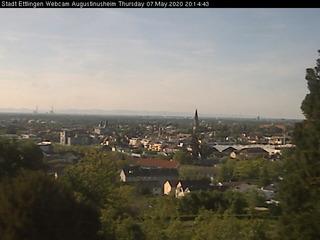 View from St. Augustinusheim Vocational School on Schöllbronner Str.