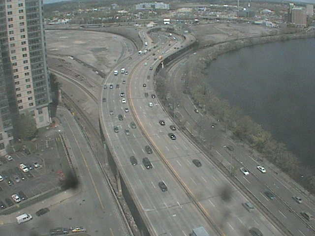 I90 & Storrow Drive Looking West