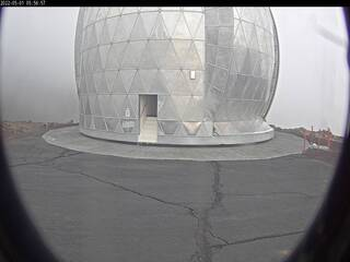 Caltech Submillimeter Observatory on Mauna Kea
