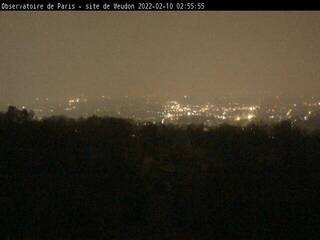 Meudon Observatory Solar Tower - View of Paris