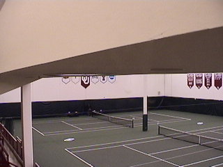 Oklahoma University Indoor Tennis Courts