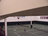 Oklahoma University Indoor Tennis Courts