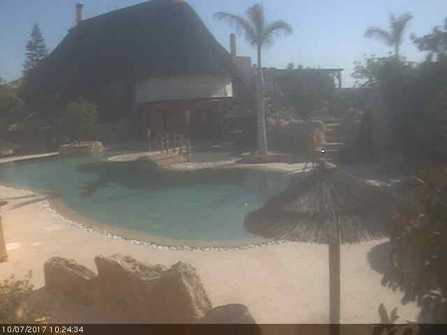 Desert Springs Family Leisure & Golf Resort - The Crocodile Club Bar & Restaurant - Pool Cam