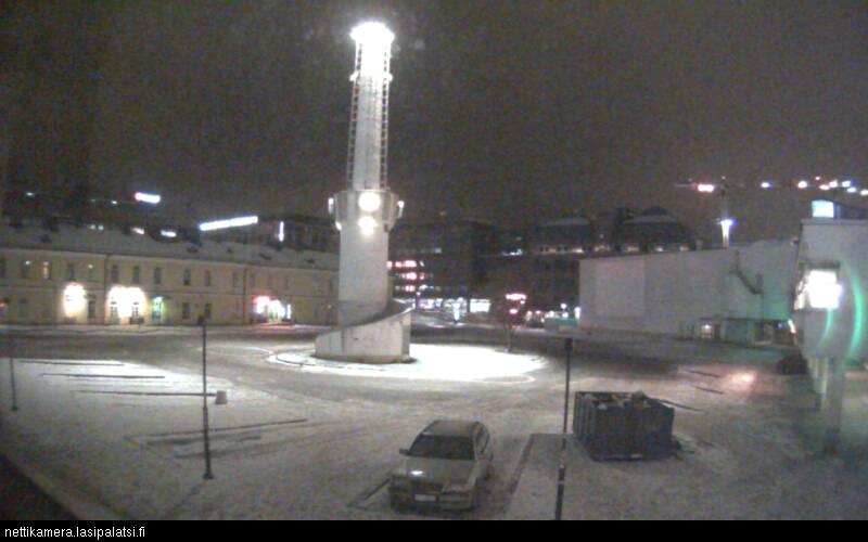 Lasipalatsi Film & Media Centre on Lasipalatsinaukio (Webcam Offline)