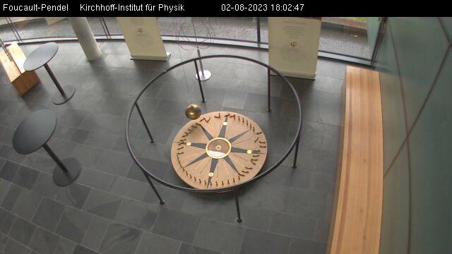 University of Heidelberg - Kirchhoff Institute for Physics - Foucault's Pendulum