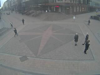 Jyväskylä Kompassi at Asemakatu & Kauppakatu