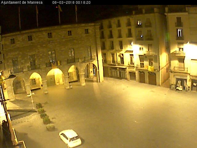 Plaça Major Manresa