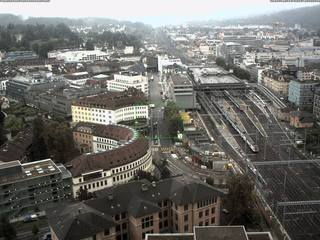 View from Roter Turm on Theaterstrasse
