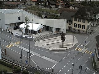 Hotel Hof und Post - Intersection Cam