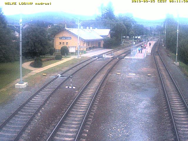 Velke Losiny Live Cam, Czech – Railway Station