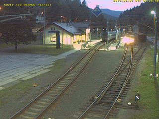 Kouty nad Desnou Station