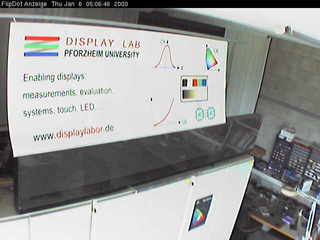Pforzheim University - Flipdot Display