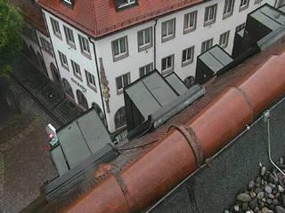 Rathausplatz from Hotel Am Rathaus on Rathausgasse