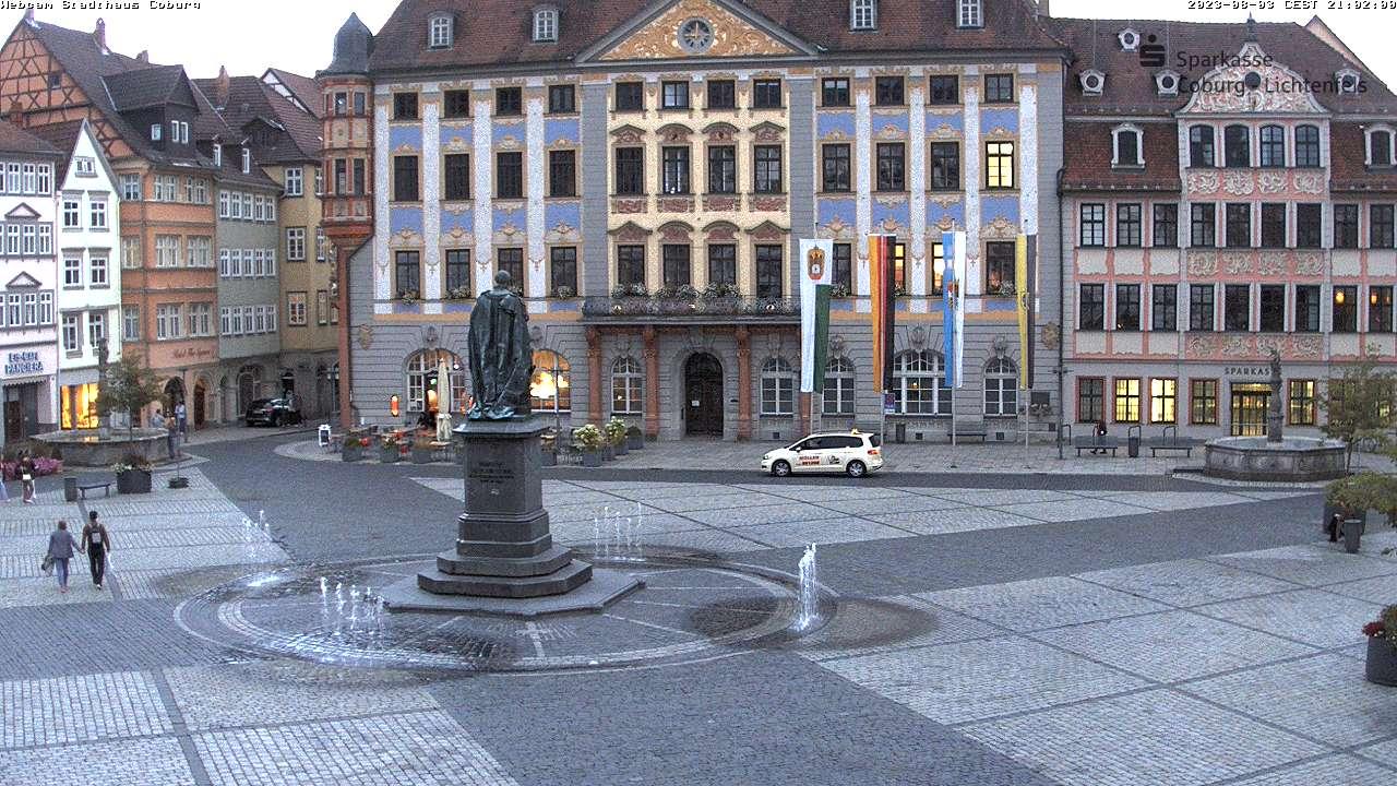 Marktplatz Coburg from Sparkasse-Coburg-Lichtenfels Bank