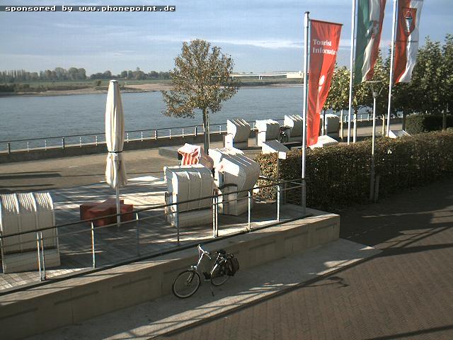 Tourist Information Centre on Rheinpromenade