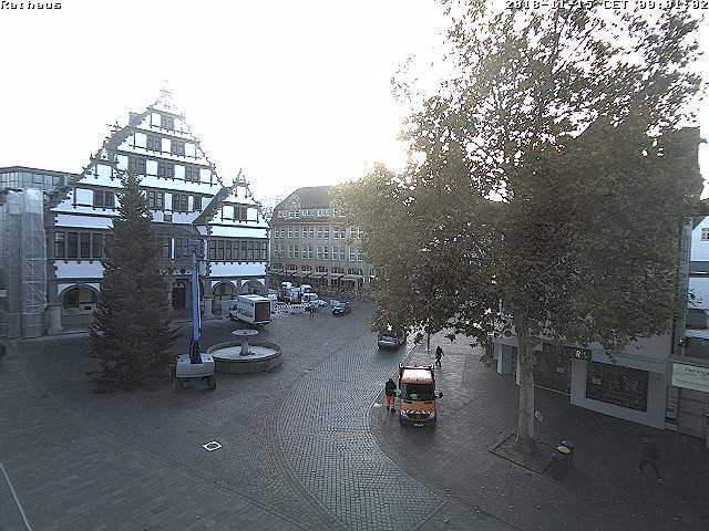 Rathaus Paderborn on Rathausplatz