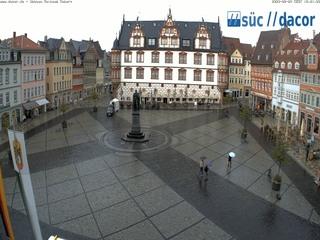 Marktplatz Coburg from Rathaus Coburg