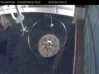 University of Heidelberg - Kirchhoff Institute for Physics - Foucault's Pendulum