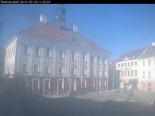 Tartu Town Hall on Rüütli