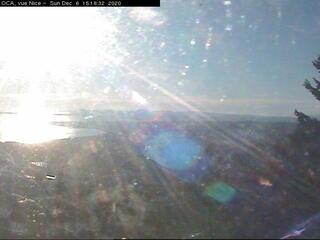 Nice depuis l'Observatoire de la Côte d'Azur