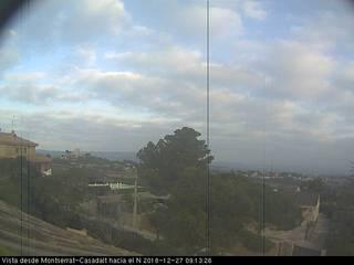 View of Montserrat-Casadalt Looking North